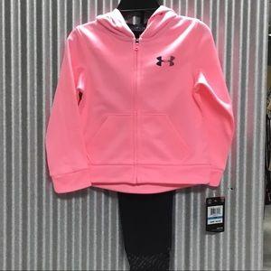🆕 UA hoody set in Pop Pink